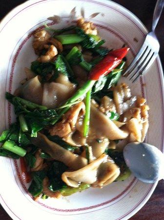 Suda Restaurant: drunken noodle