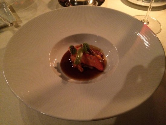 "The Lodge at Glendorn: Lobster ""Coq au Vin"""