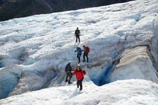 exit glacier ice hiking picture of adventure sixty north day