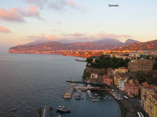 Settimo Cielo: View from Our Room at Sunset