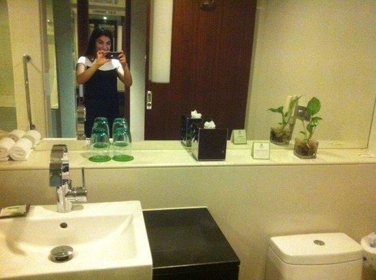 Holiday Inn Shanghai Pudong: мой номер