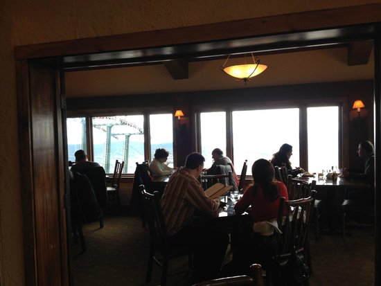 Stowe Mountain Resort The Restaurant At Top Of Gondola Nice Views