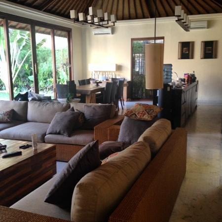 The Akasha Villas: living area