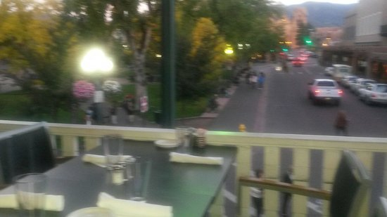 Great view from balcony picture of thunderbird bar and for Balcony grill and bar