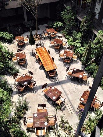 Flor de Mayo Hotel and Restaurant: Restaurante