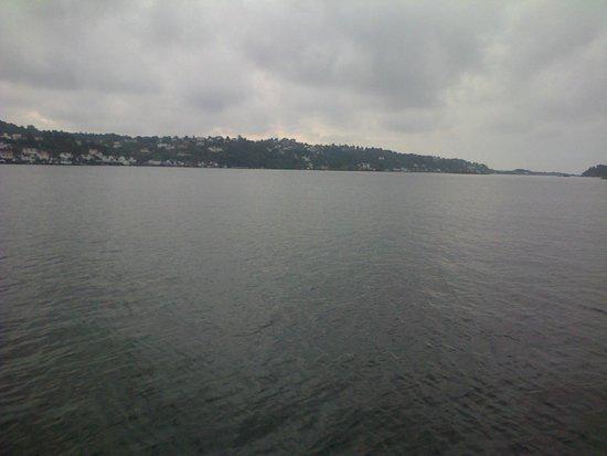 Clarion Hotel Tyholmen : vue sur le fjord au sud