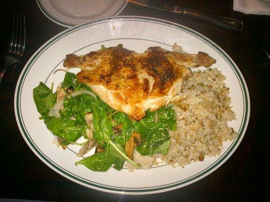 Daily Grill : Pressed Half Chicken