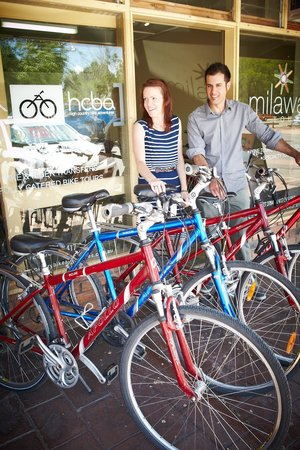 Milawa, Australia: Bike Hire