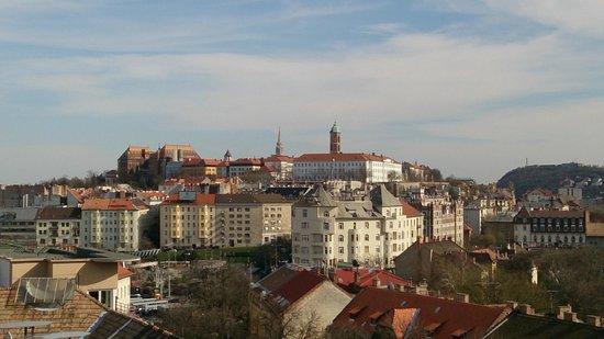 هوتل بيلفيدير بودابيست: Вид на город