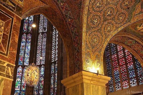 Aachen Cathedral (Dom): ... アーヘン大聖堂 - Foto van A