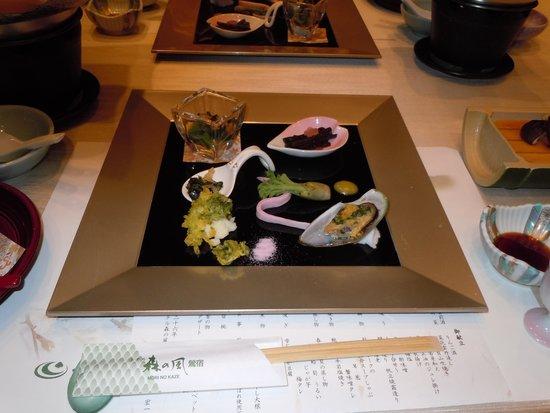 Hotel Mori no Kaze Ousyuku: 夕食