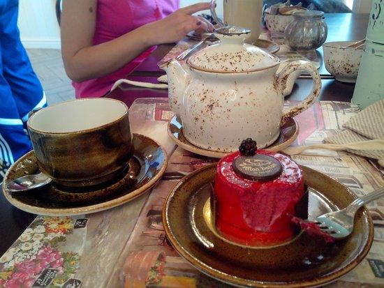 чай с пирожными картинки