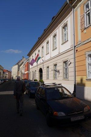 Buda Castle Fashion Hotel: Street frontage