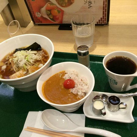 T's TanTan Tokyostation: Set lunch