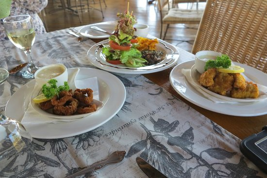@ Whales Restaurant: The three Tapas dishes that we selected