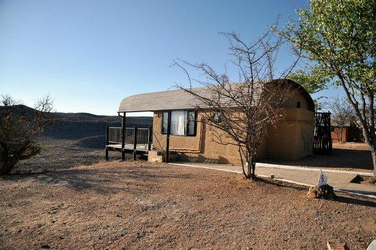 Ugab Terrace Lodge: Bungalow mit Aussicht