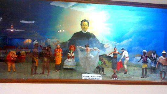 Don Bosco Centre for Indigenous Cultures: Five continents representation