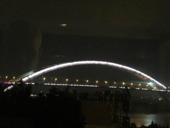 Renaissance Shanghai Pudong Hotel : vista das janelas do apto 623 do renaissance pudong shanghai