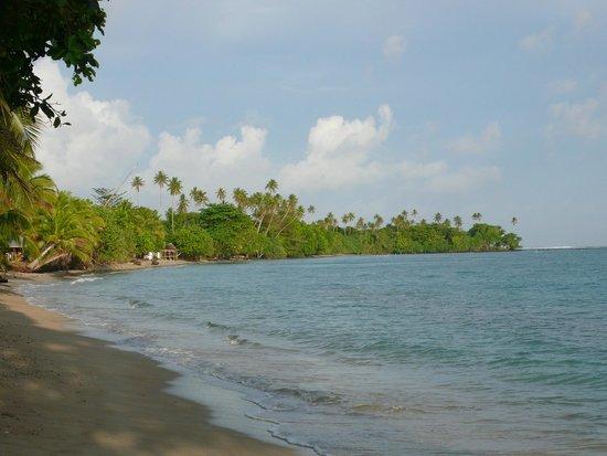 Vaiula Beach Fale: Beach