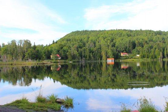 St-Donat de Rimouski, Canada : Lac Domaine Valga