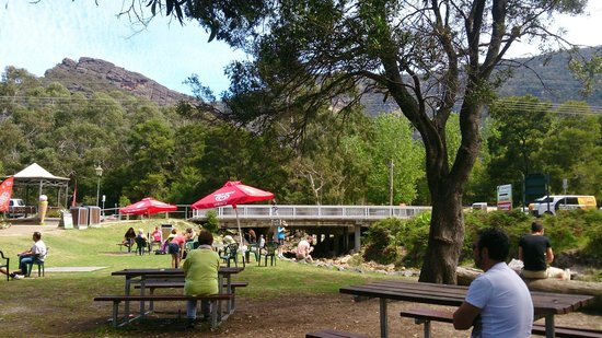 Halls Gap Caravan Park: From the cafe