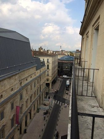 Hotel Continental by HappyCulture : view from balcony. Ask for balcony room