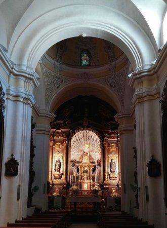 Cristo de los Faroles: Capilla de la Virgen de los Dolores