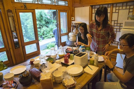Gongsimga Guesthouse : breakfast