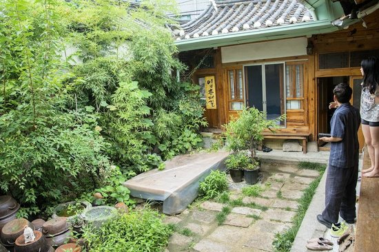 Gongsimga Guesthouse : Daegeum room outside