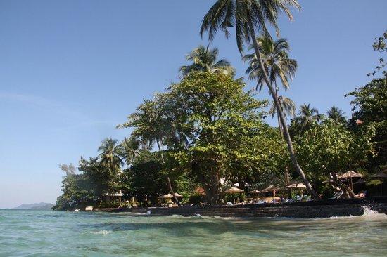 Sea View Resort & Spa Koh Chang: Пляж