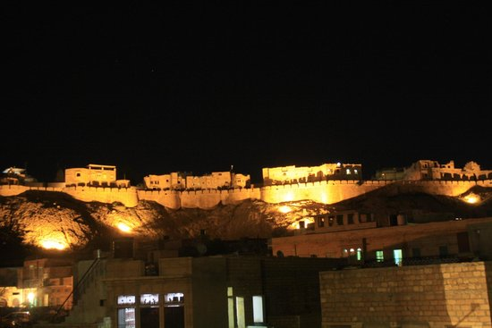 Mystic Jaisalmer Hotel: View from the rooftop cafe