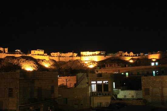 Mystic Jaisalmer Hotel: view from Cafe