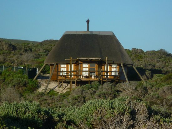 Agulhas Rest Camp: View of the chalet