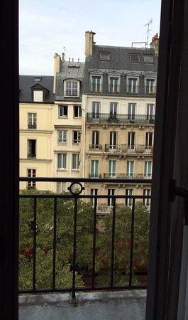 Hotel de Nice: Room balcony view (5th floor)