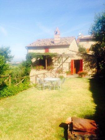 Azienda Fontelunga: villa