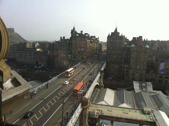 The Balmoral Hotel: View from Room Level 6