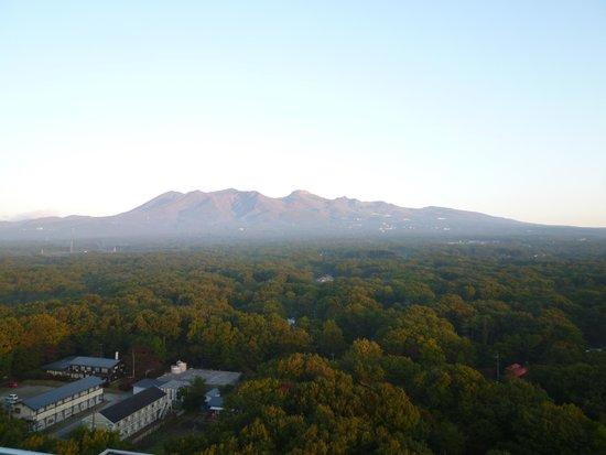 Hotel Epinard Nasu : 屋上からは素敵な景色が見れます