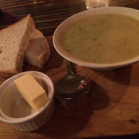 Lucky 7 Canteen: Cabbage and potato soup - tasted better than it sounds