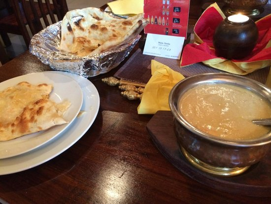 Kathmandu Restaurant : small portions