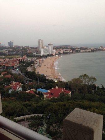 Qingdao XiaoYushan Park : View from Little Fish Mountain Park