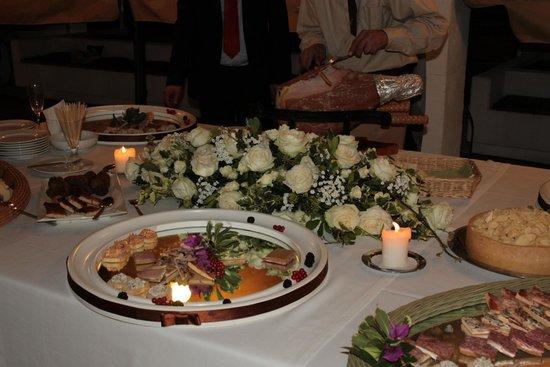 Matrimonio con cena a buffet nella terrazza - Picture of ...
