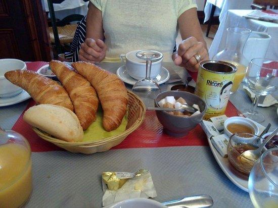 Luppe Violles, France: Petit déjeuner