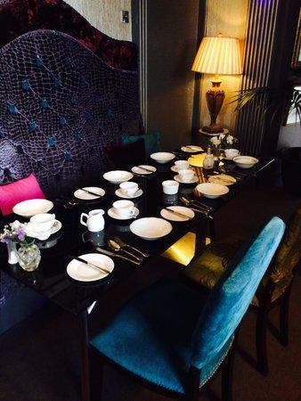 Berkley Hotel Ayr: Breakfast table