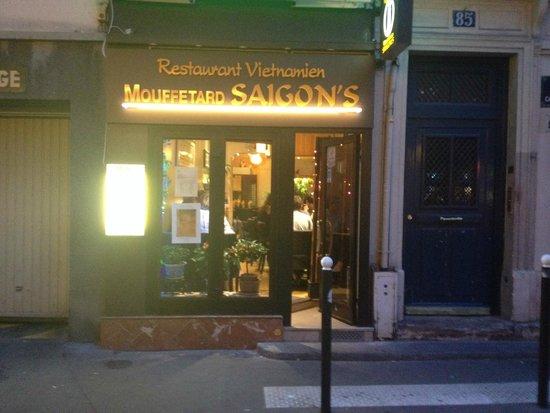 Mouffetard Saigon\'s, Paris - Quartier Latin - Restaurant Reviews ...