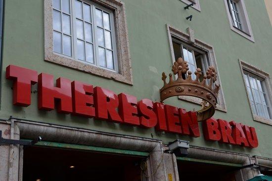 Theresienbraeu: Theresien Brau Restaurant -Innsbruck