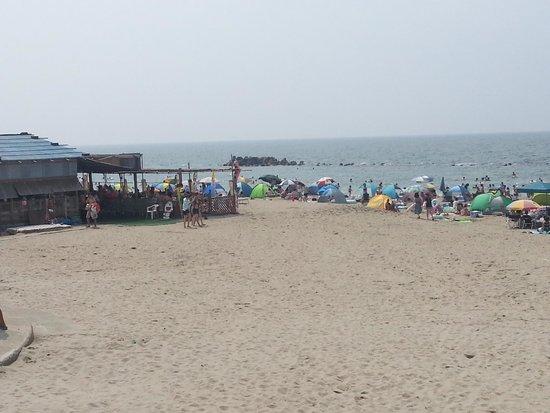 Yunohama Beach: 広いビーチ