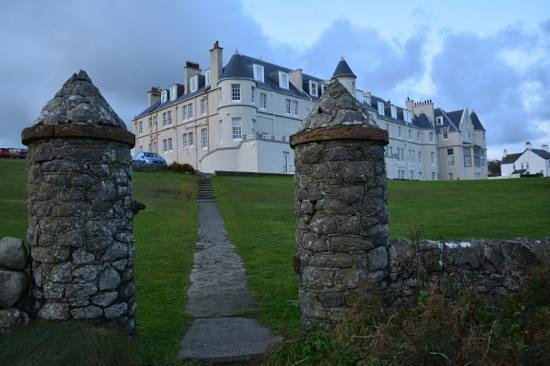 The Portpatrick Hotel: Showing the facelift