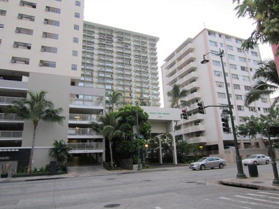 Unipack at the Waikiki Park Heights: 外観