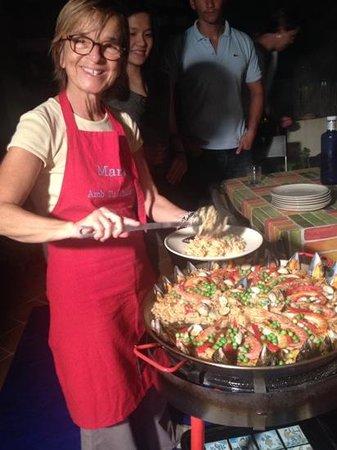 Marta's Private Paella Cooking Classes: marta