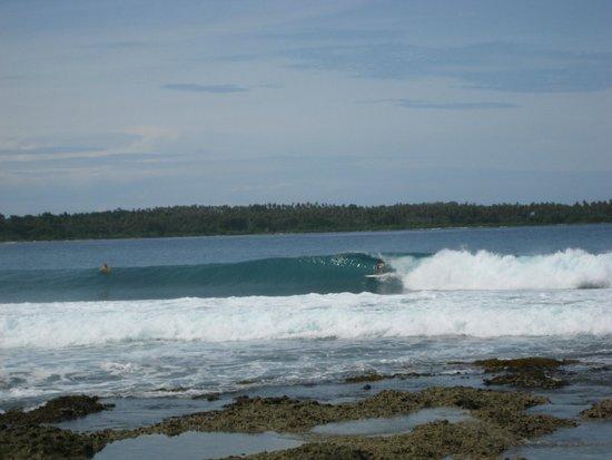 Simeulue Surflodges: Dylans right